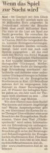 Holsteinischer Courier vom 26.07.2008